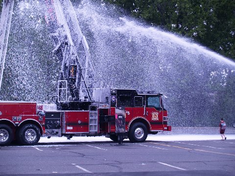 Ladder 3 wetdown 2