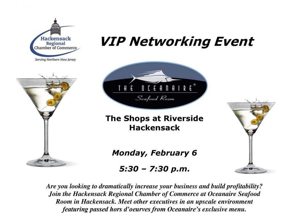 vip networking event   township of saddle brook new jersey